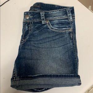 Silver Brand Short